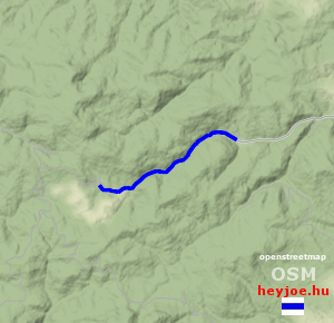 Kisújbánya-Óbánya magasság