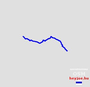 Dorog-Klastrompuszta magasság